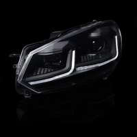 VW Golf Mk6 Sequential LED Projector Headlights – Pair