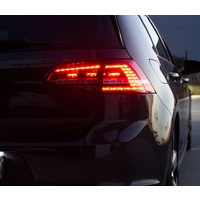 VW Golf MK7 2013-2017 Sequential LED Tail Lights