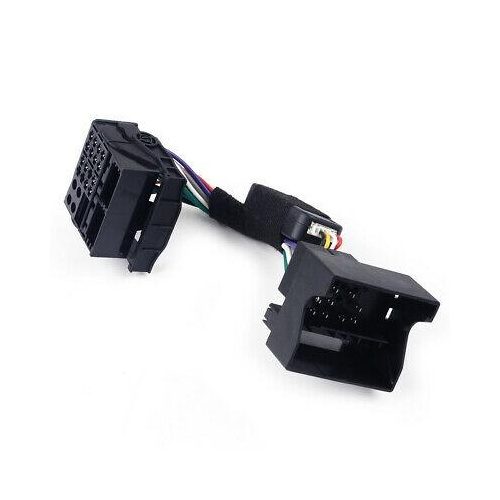 Quadlock Steering Wheel Control Simulator Adapter for RCD330/RCD340/RCD360
