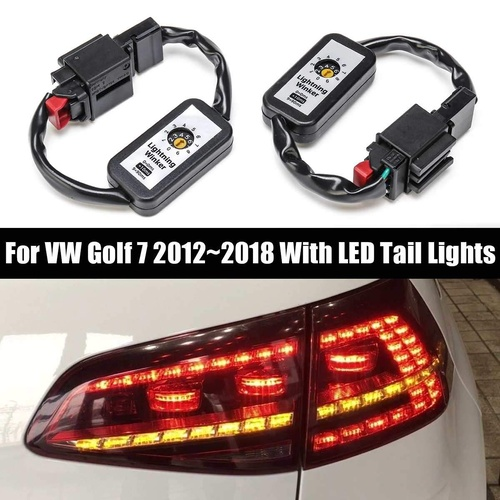VW Golf MK7 LED Sequential Tail Light Harness Module